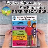 Positive Affirmations for Educators