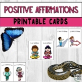 Positive Affirmations for Kids Printable Picture Cards