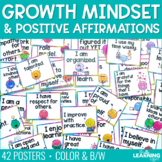 Positive Affirmations for the Classroom {Posters}