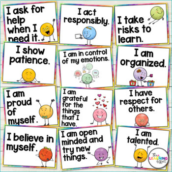 Positive Affirmations Posters