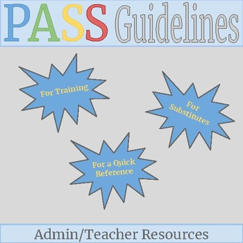 Positive Approach to Student Success Program Guidelines