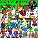 Positive Attitude Clip Art Bundle {Educlips Clipart}