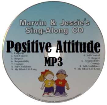 Positive Attitude Song - MP3, Lyrics, & Coloring Page