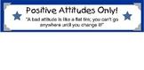 Positive Attitudes Banner