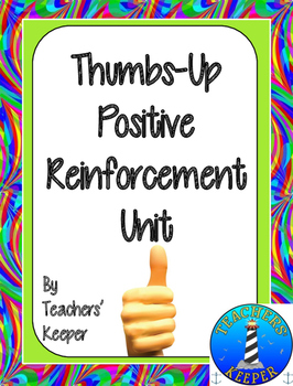 Positive Behavior Reinforcement Activities: Thumbs-Up!