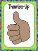 Positive Behavior Reinforcement Activities: Thumbs-Up!