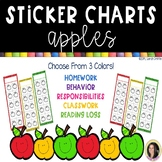 Apple Sticker Charts