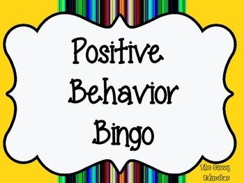 Positive Behavior Bingo