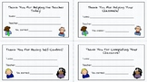Positive Behavior Task Cards