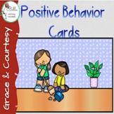 Positive Behavior Cards - PRINT