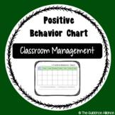 Positive Behavior Chart! Behavior Tool and Reward System (