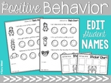 Positive Behavior Charts