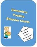 Positive Behavior Charts for Elementary