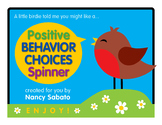 Positive Behavior Choices Spinner