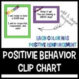 Positive Behavior Clip Chart