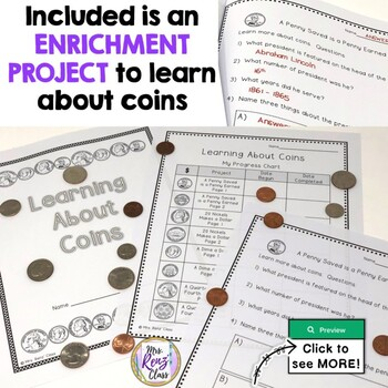 Positive Behavior Program Coin Point Charts & Much More Reinforce Money Counting