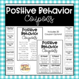 Positive Behavior Coupons