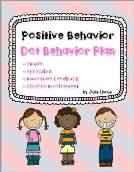 Positive Behavior ~ Dot Behavior Cards