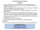 Positive Behavior Flip Book