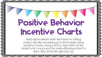 Positive Behavior INcentive Charts