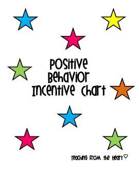 Positive Behavior Incentive Chart
