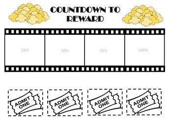 Classroom Management Tool: Movie and Popcorn Behavior Reward