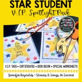 Positive Behavior Incentives -Star Student Spotlight Pack