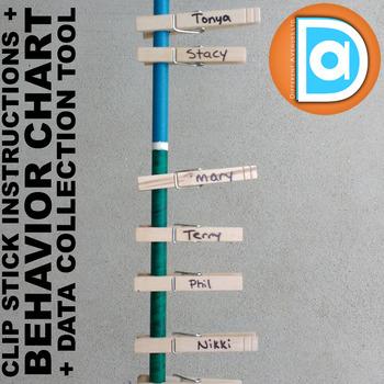 Classroom Behavior Management Pack     Behavior Chart & Data Collection