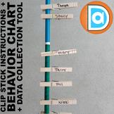 Classroom Behavior Management Pack  |  Behavior Chart & Da