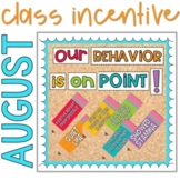 Classroom Behavior Management Incentive Tracker Bulletin E