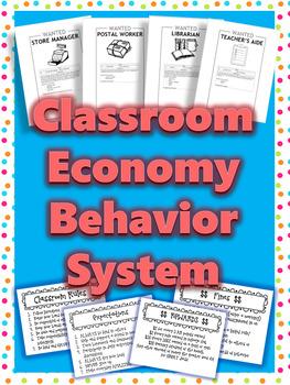 Positive Behavior Management Classroom Economy System -- Market Day option