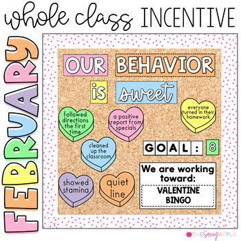 Positive Behavior Management: *Editable* February Incentive Tracker