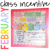 Positive Behavior Management: *Editable* February Incentive Tracker