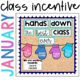 Positive Behavior Management: *Editable* January Incentive Tracker