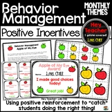 "Positive Behavior Management Incentives ""Caught You Being Good"""