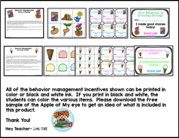 """Positive Behavior Management Incentives """"Caught You Being Good"""""""