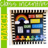 Positive Behavior Management: March Incentive Tracker *Editable*