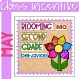 Positive Behavior Management: May Incentive Tracker *Editable*