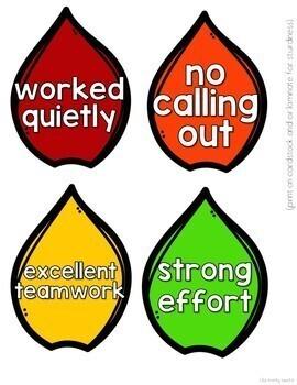Positive Behavior Management: May Incentive Tracker *Editable*