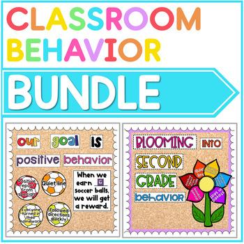Positive Behavior Management Bulletin Boards: The Year Long Bundle
