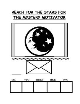 Positive Behavior Management  Mystery Motivator System