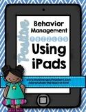 Positive Behavior Management Puzzles Using iPads FREEBIE