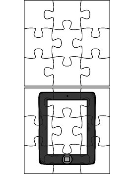 Positive Behavior Management Puzzles Using iPads FREEBIE
