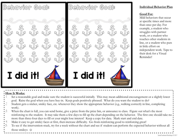 Positive Behavior System for Individual and Small Group Behavior Plans