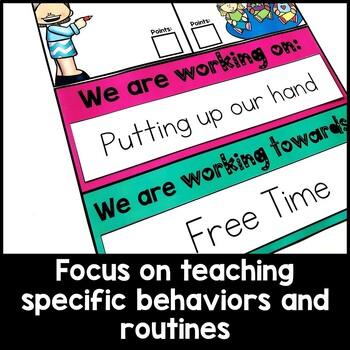 Positive Behavior Management {Whole Class Behavior Chart}