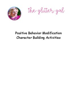 Positive Behavior Modification Activity