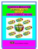 Behavior Modification System Using Verbal Praise