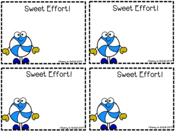 Positive Behavior Notes for Students Winter-Themed