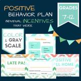 Positive Behavior Plan