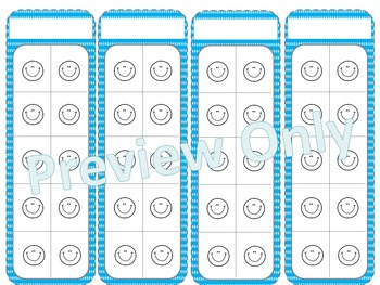 Smiley Face ~ Polkadot ~ Sticker Charts